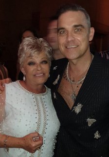 Robbie Williams and Crissy