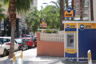 ATM in Benidorm