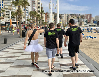 stags in Benidorm