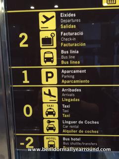 alicante airport parking