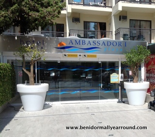 Ambassador hotel entrance