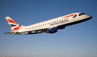 BA airbound flight