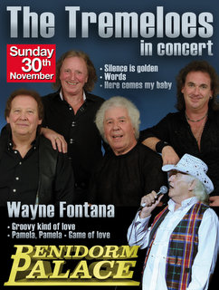 Tremeloes poster for Benidorm Palace