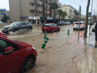 flooding in Albir