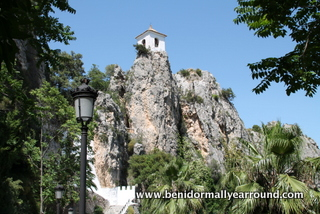 The citadel at Guadalest
