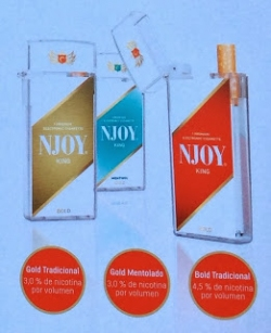 Disposable electronic cigarettes without nicotine