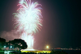fireworks in altea