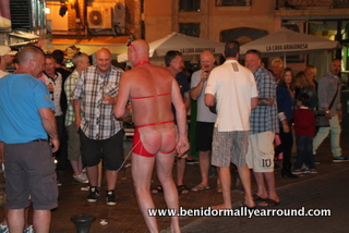 Stag group in Benidorm