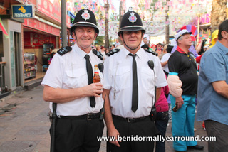 2 bobbies at Fancy dress day